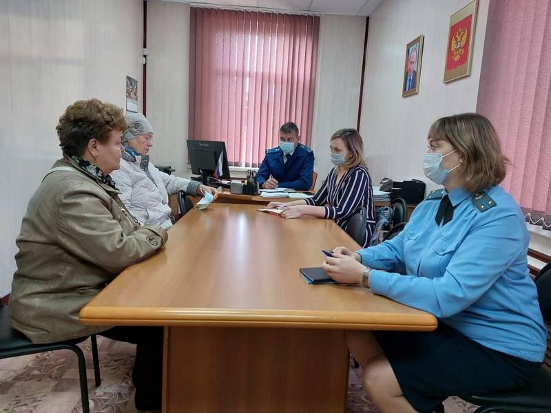 Нижегородская Госжилинспекция совместно спрокуратурой провела выездной прием на Бору