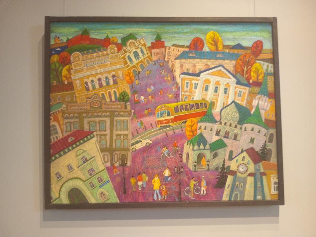 Выставка «Нижний Новгород. Детали.2» открылась в Художественном музее