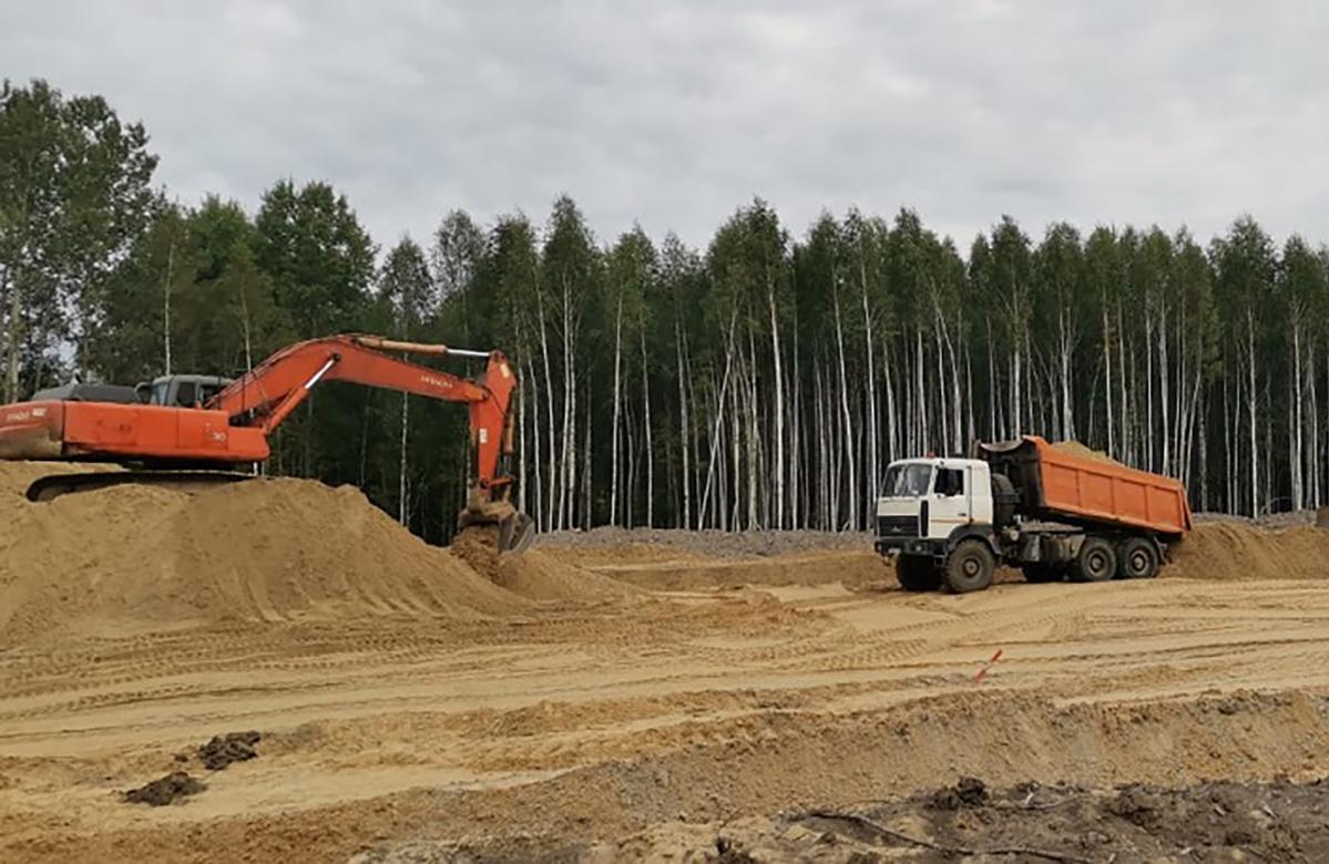 На территории Нижегородской области заканчивается монтаж третьего жилого модульного здания вахтового городка