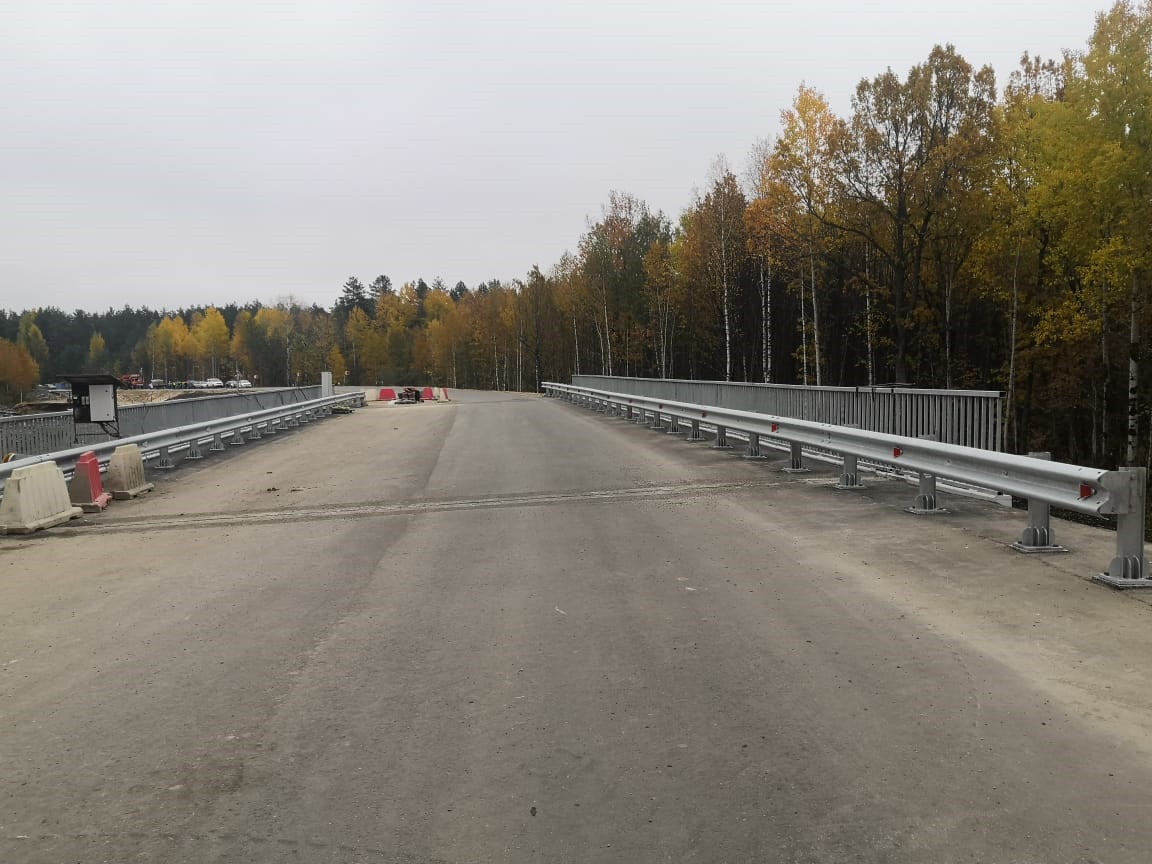 Новый мост через реку Беловскую вВетлужском районе откроют доконца октября