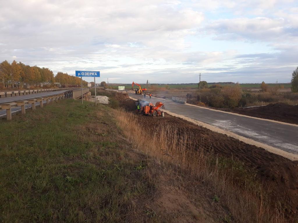 Мост через Озерку на автодороге Р-158 в Нижегородской области ждет капитальный ремонт
