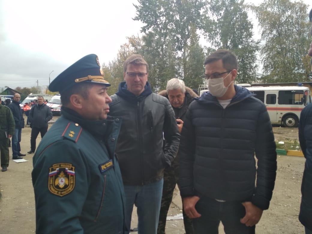 Решение овозвращении жильцов в квартиры дома №18 по улице Гайдара примут после обследованияздания