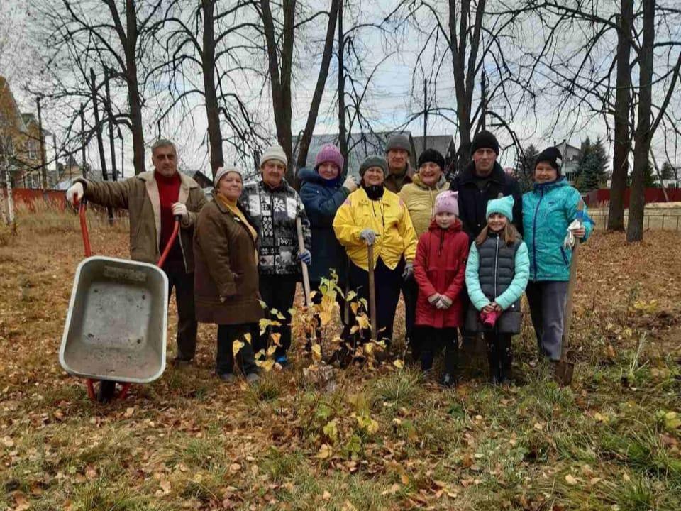 Жители поселков Дзержинска приняли участие в акции «Зеленая Россия»