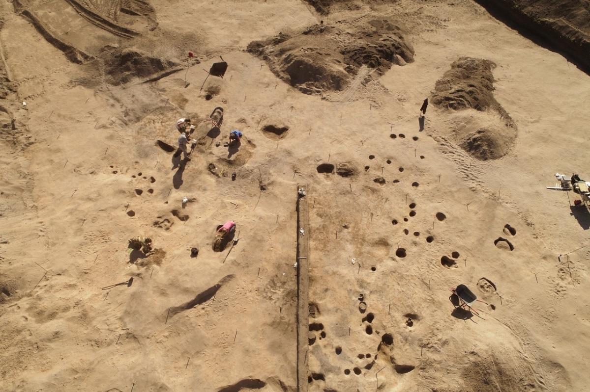 На трассе М-12 в Нижегородской области открыто и исследовано редкое поселение бронзового века