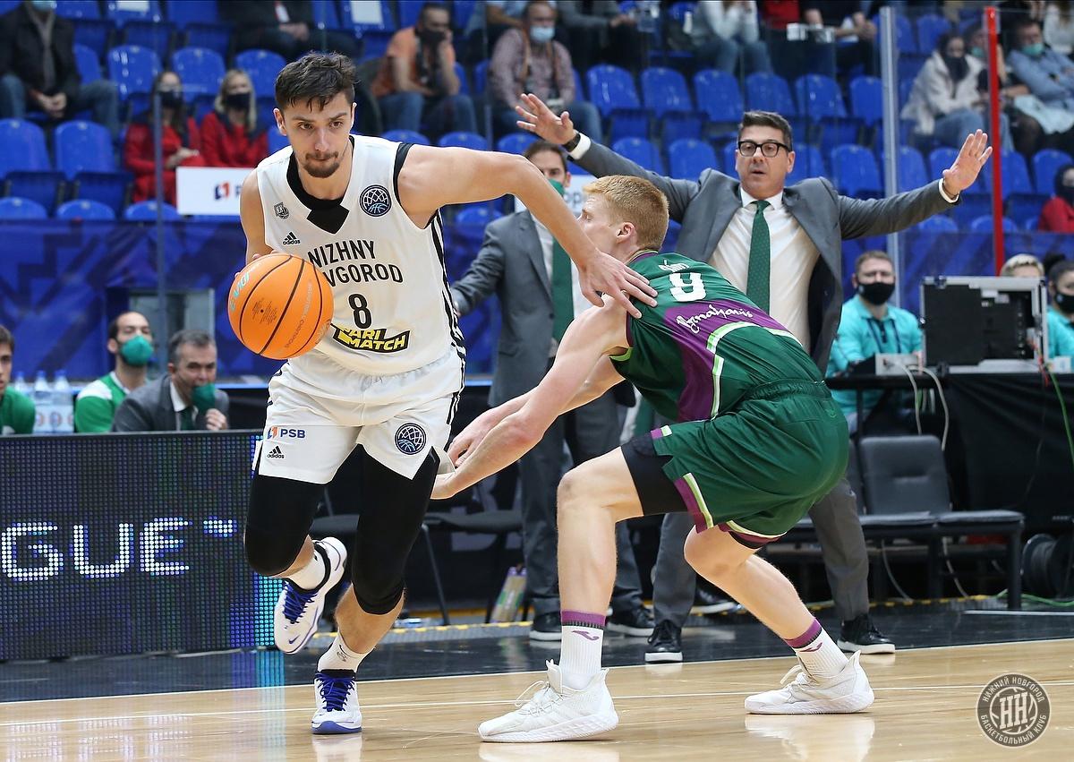 Баскетболисты «Нижнего Новгорода» проиграли на старте Лиги чемпионов ФИБА