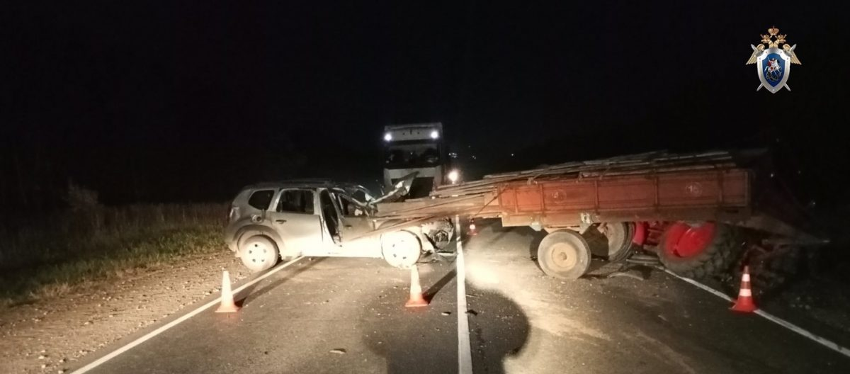 Женщина погибла в ДТП в Арзамасском районе из-за пьяного полицейского