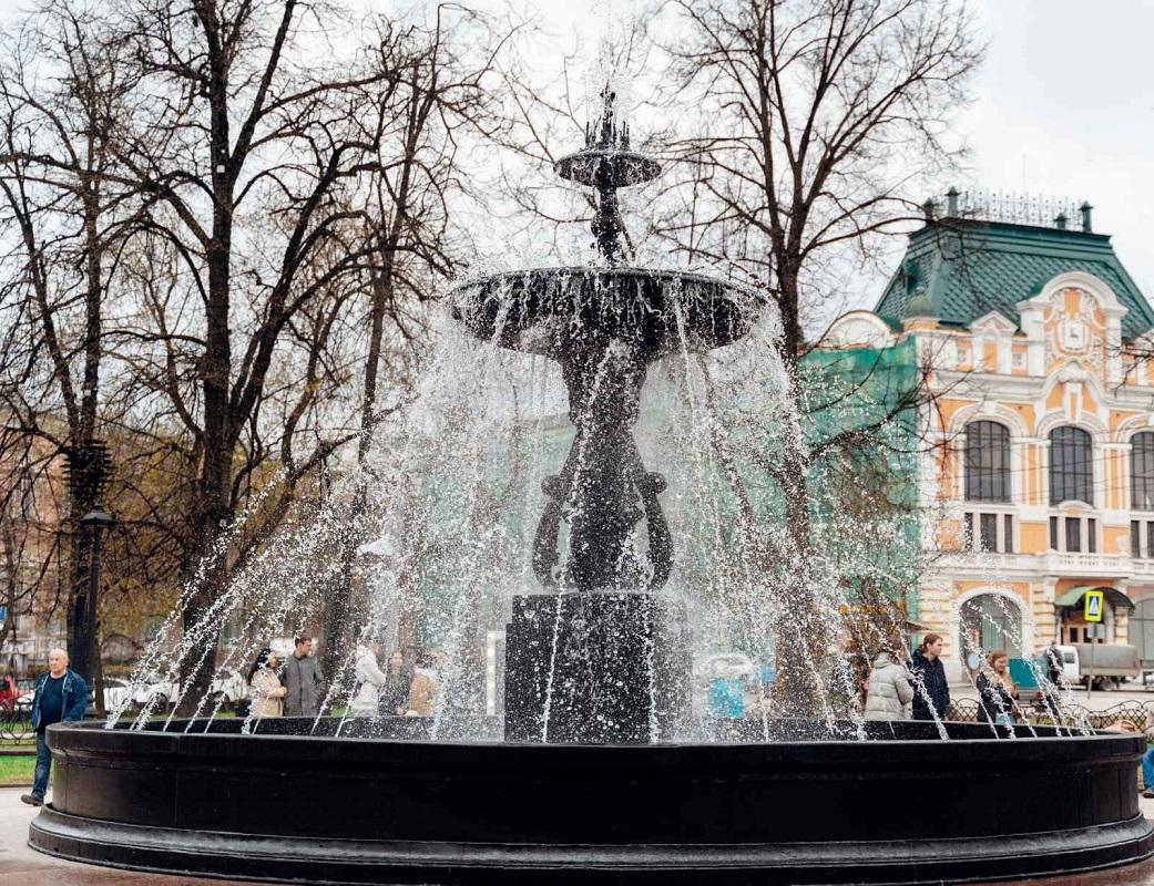 В Нижнем Новгороде закончился сезон фонтанов
