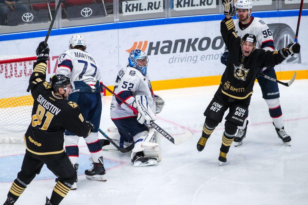 Два поражения потерпели хоккеисты нижегородского «Торпедо» на Дальнем Востоке