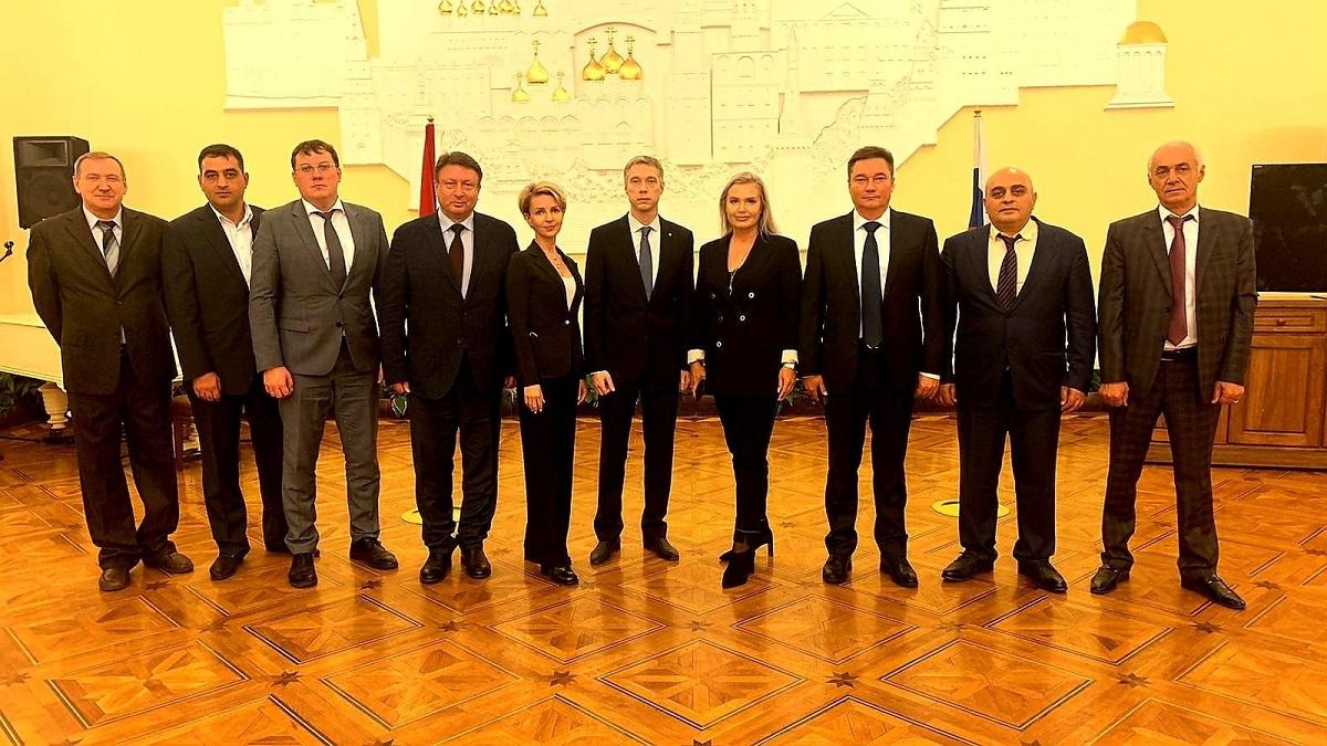 Соглашение опобратимстве заключили Арзамас игород Вагаршапат вАрмении