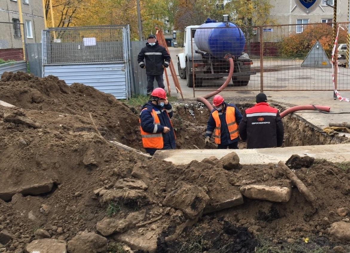 Нижегородец провалился в яму с кипятком в Автозаводском районе