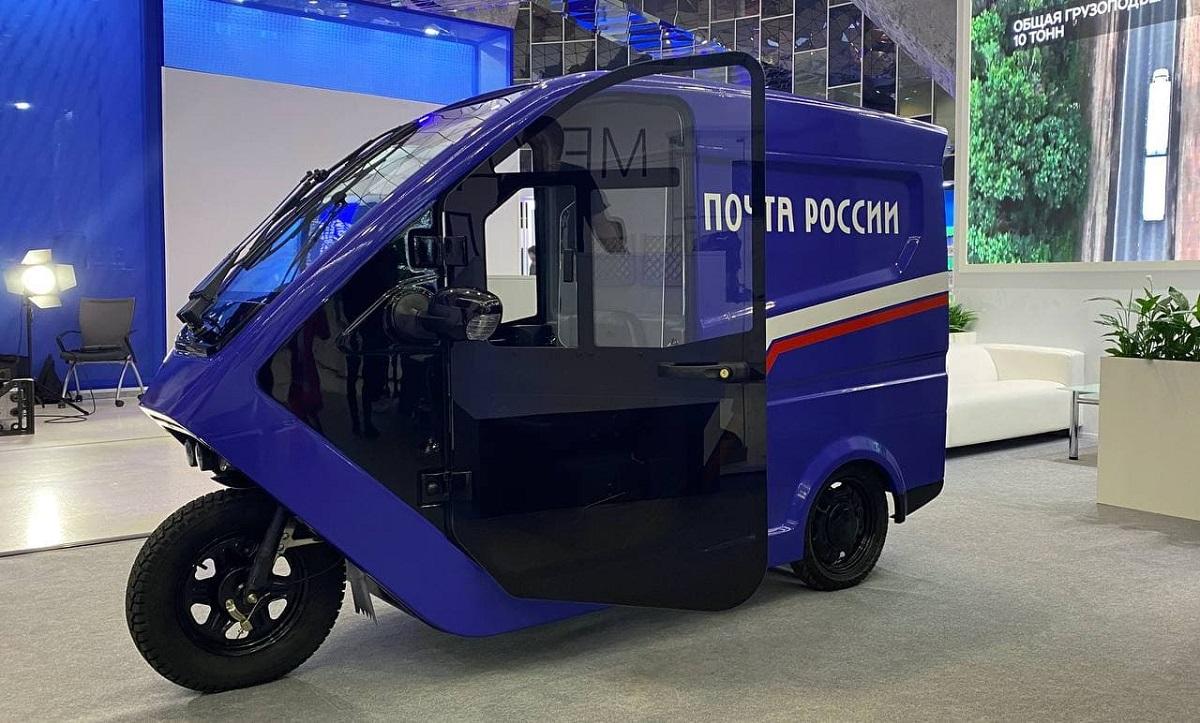 «Почта России» будет тестировать нижегородские трициклы