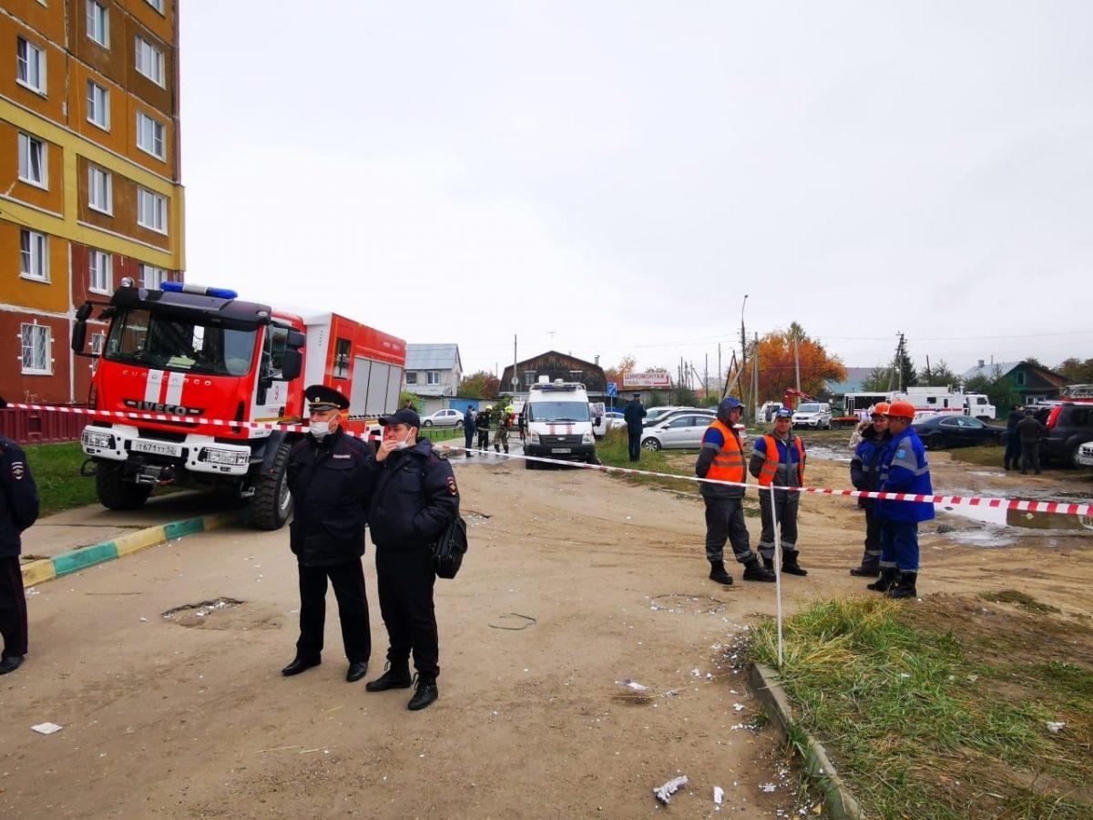 Опубликовано видео с места хлопка газа на улице Гайдара