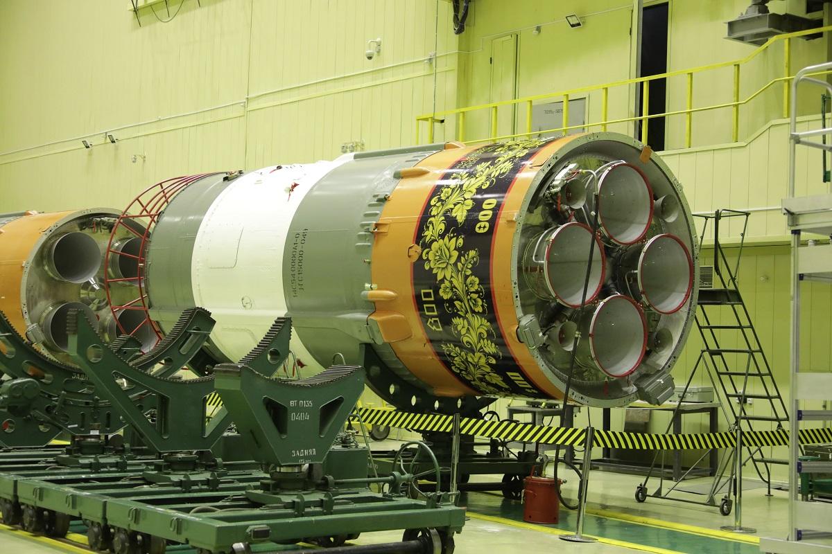 «Роскосмос» украсил ракету под хохлому в честь 800-летия Нижнего Новгорода