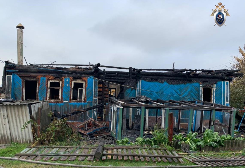 В СК организовали проверку по факту гибели мужчины на пожаре в Кстове
