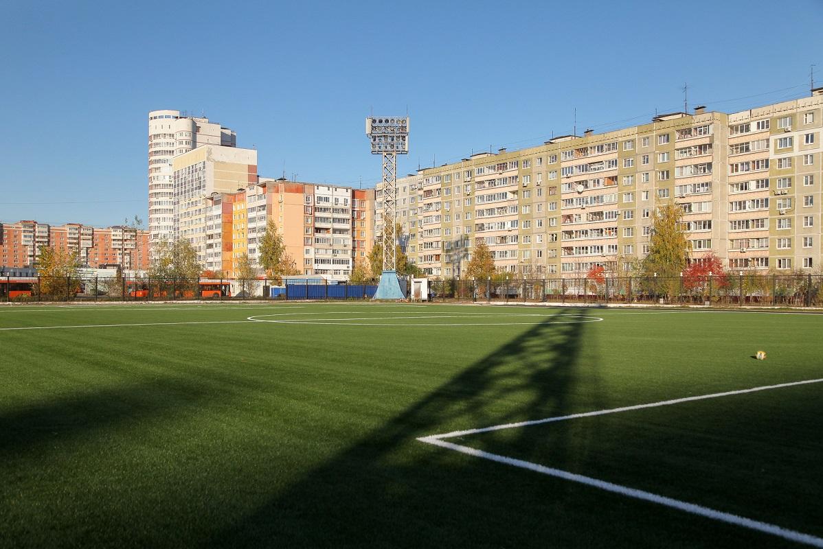 Реконструкция стадиона «Чайка» на Автозаводе находится на финальной стадии