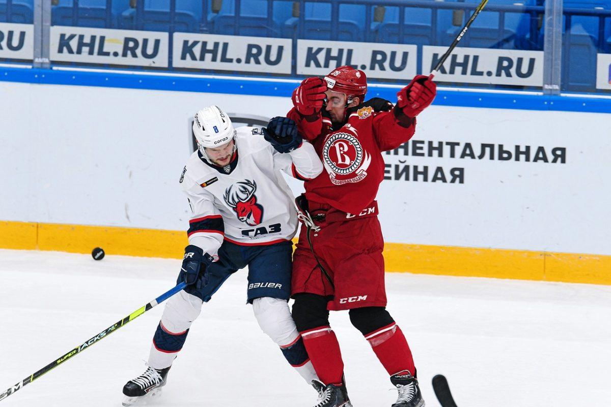 Хоккеисты нижегородского «Торпедо» в гостях обыграли подмосковный «Витязь»