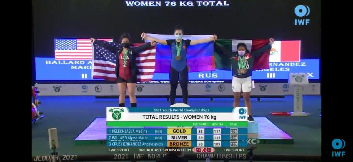 Нижегородка Мадина Келехсаева завоевала «золото» на первенстве мира по тяжелой атлетике
