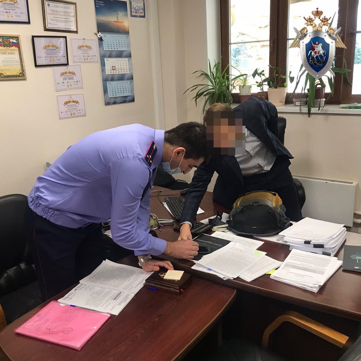 Опубликовано видео задержания чиновника из нижегородского минимущества, подозреваемого в причинении милионного ущерба