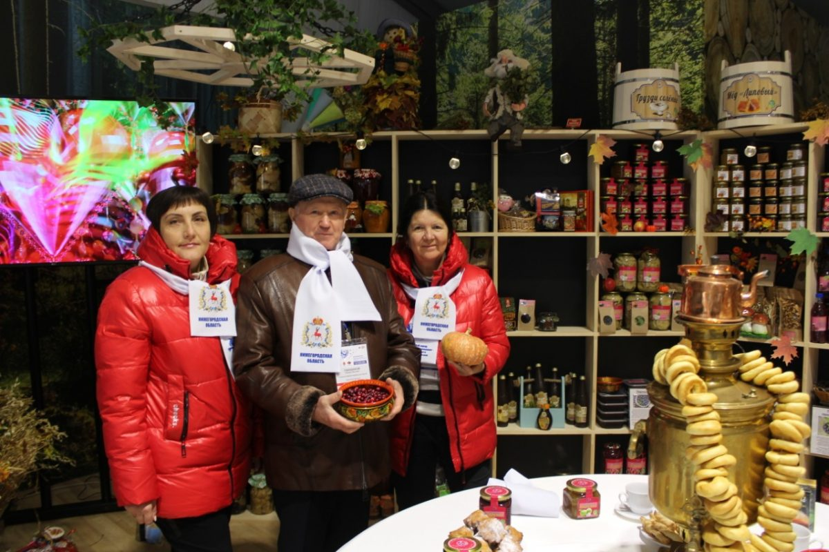 Нижегородские производители представили свою продукцию наМеждународном форуме предприятий иорганизаций потребкооперации вТуле